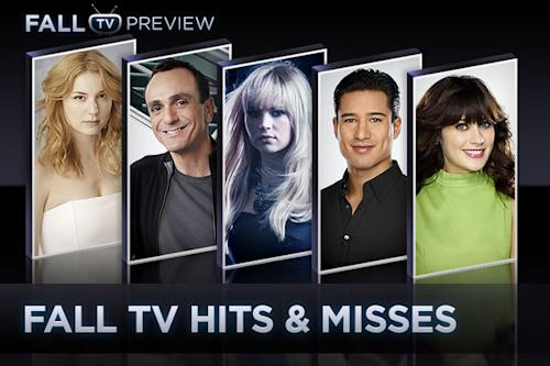 Fall TV's Hits & Misses: An Early Scorecard