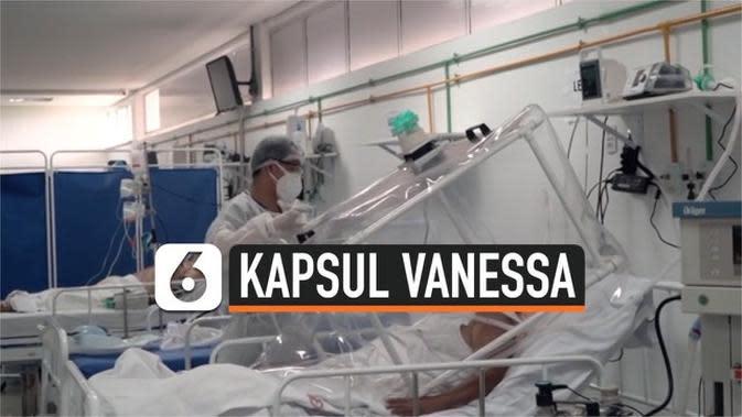 VIDEO: Kapsul Vanessa, Cara Tenaga Medis Brasil Hindari Virus Corona