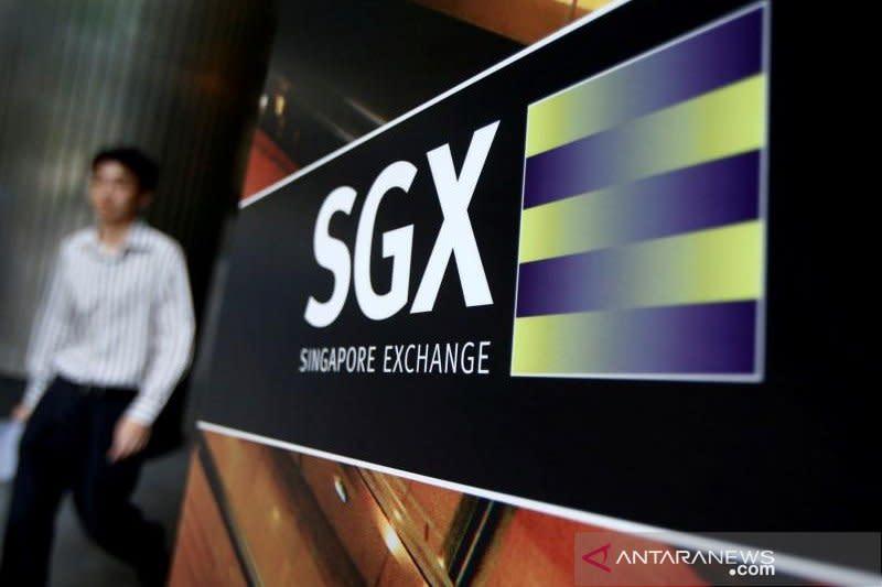 Bursa saham Singapura berakhir menguat 0,43 persen