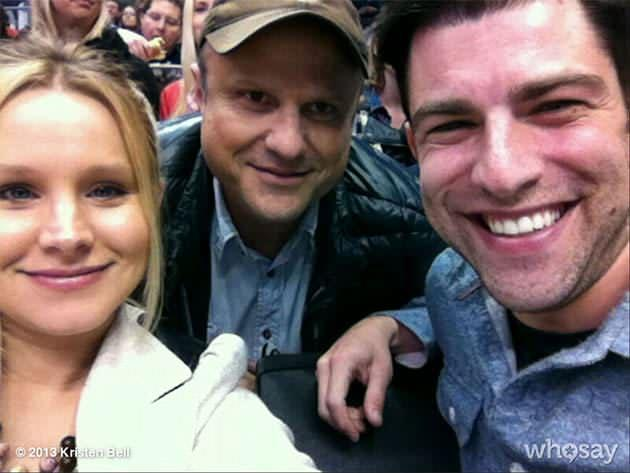 Kristen Bell, Max Greenfield, and Enrico Colantoni have 'Veronica Mars' reunion