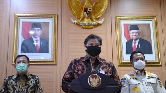 Ajak Optimistis, Airlangga: Judicial Review UU Cipta Kerja Terbuka