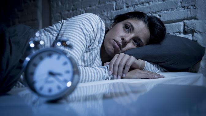 Sulit Tidur / Sumber: iStock