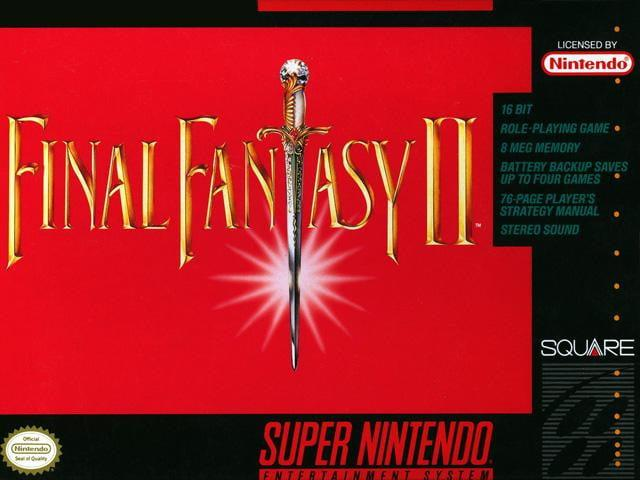 best snes games final fantasy ii