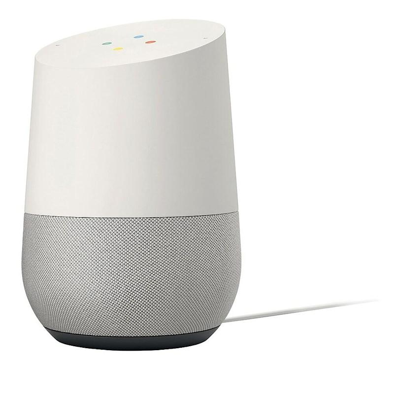 Google Home. Image via Staples.