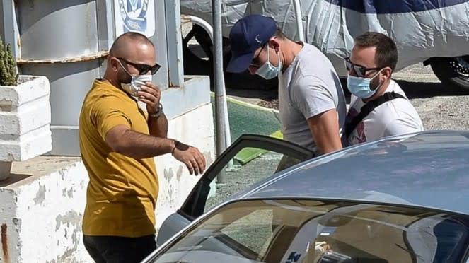 Kapten MU, Harry Maguire, ditangkap polisi di Yunani.