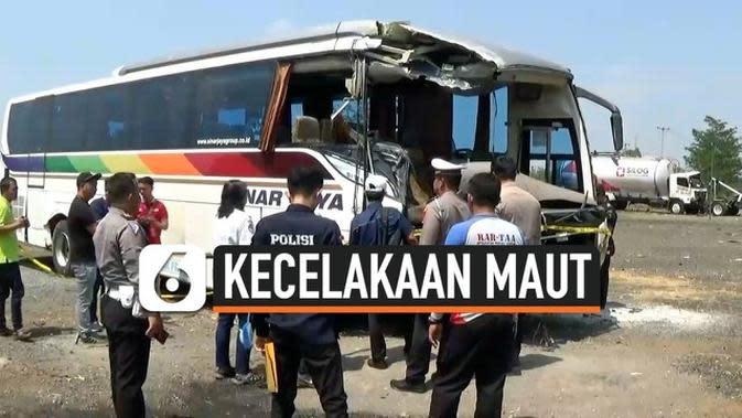 VIDEO: Kecelakaan Maut, APM Periksa Bus Sinar Jaya