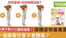 一秒看懂!醫師揭密:影響腰背健康的關鍵是…
