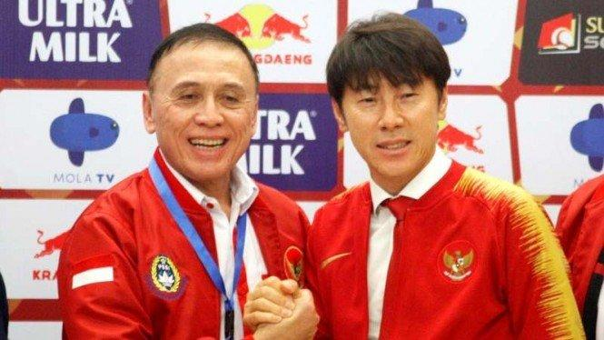Shin Tae-yong dan Kontroversi Jabatan Manajer Timnas Indonesia U-19