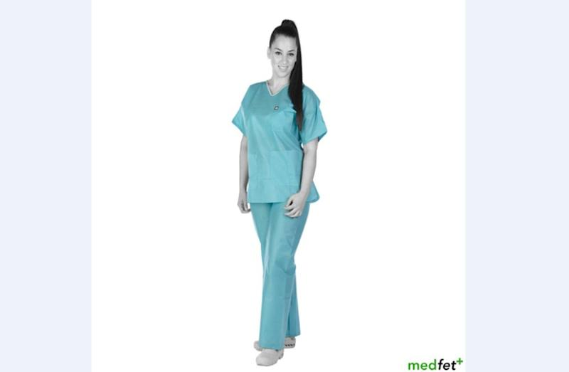 The medical fetish online retailer blamed massive underfunding and cuts that resulted in shortages of protective equipment for NHS staff. — Picture from MedFetUK.com