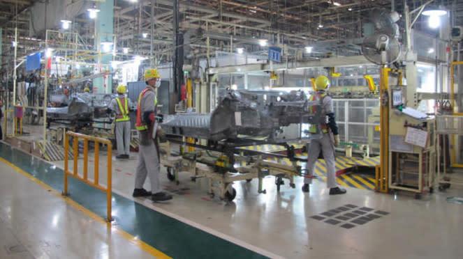 perakitan All New Kijang Innova di Pabrik Toyota Karawang 1