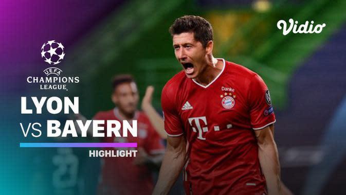 VIDEO: Highlights Liga Champions, Bayern Munchen Tantang PSG di Final Usai Kalahkan Lyon 3-0