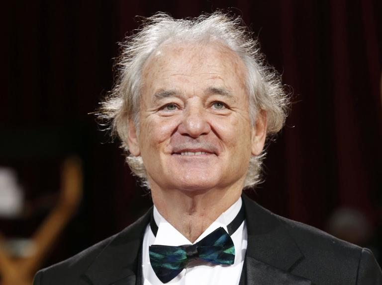 Actor Bill Murray arrives at the 86th Academy Awards in Hollywood