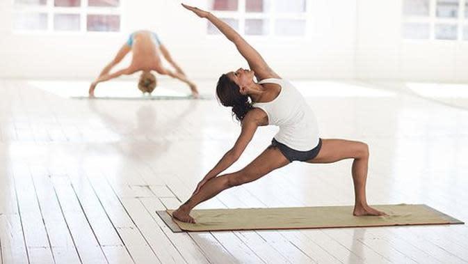Ilustrasi yoga. (Sumber: pixabay)