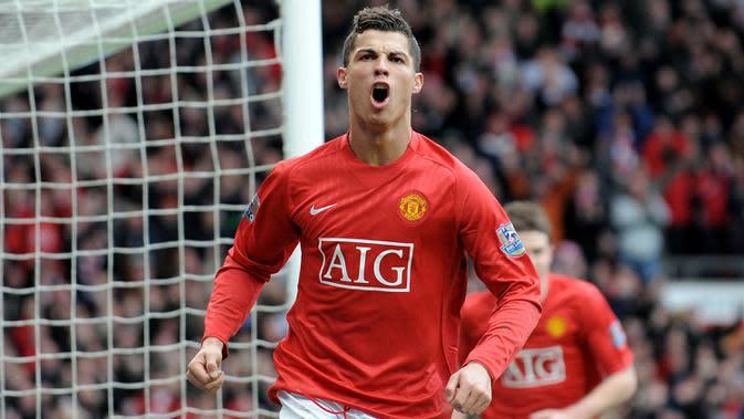Cristiano Ronaldo semasa di Manchester United (AFP)