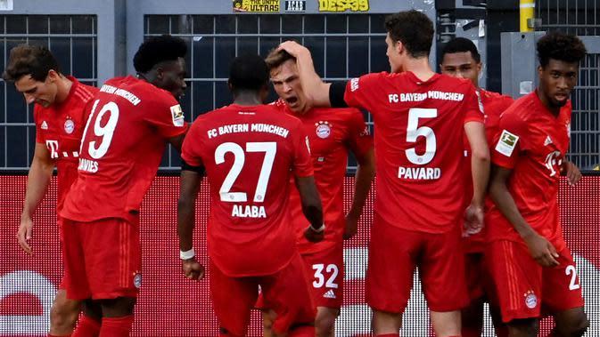 Bayern Munchen Makin Perkasa Usai Kalahkan Leverkusen 4-2