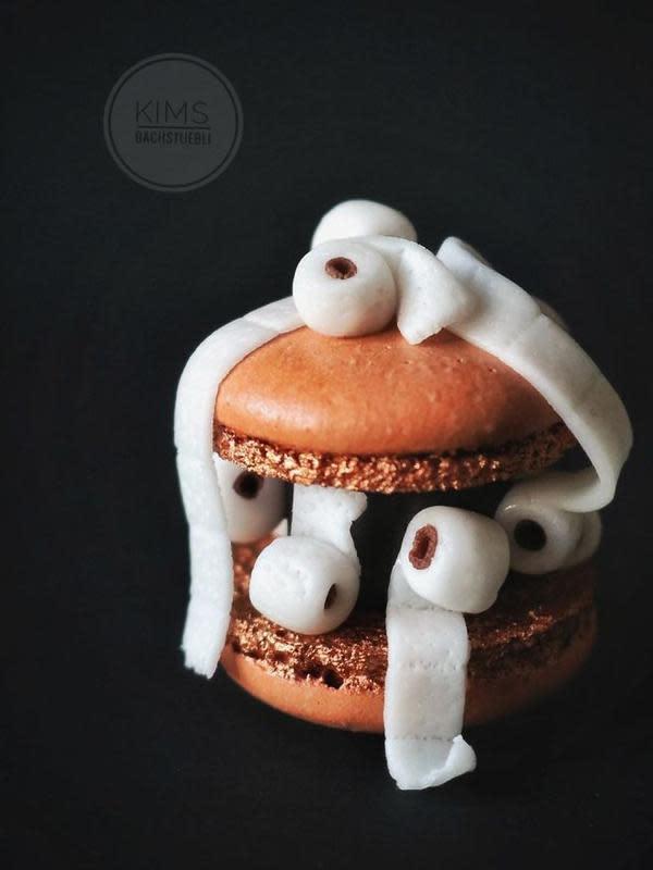 Kreasi unik dekorasi macarons. (Sumber: Instagram/kims_bachstuebli)