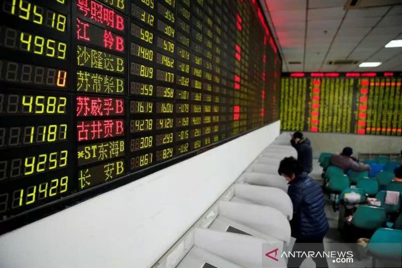 Saham China ditutup naik ditopang harapan pemulihan ekonomi