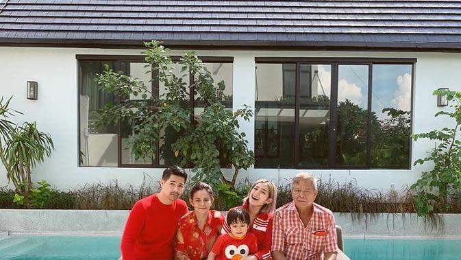 Jessica Iskandar dan Ayah (Sumber: Instagram//inijedar)