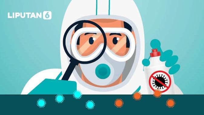 Banner Infografis Waspada Mutasi Virus Corona D614G dan Q677H. (Liputan6.com/Abdillah)