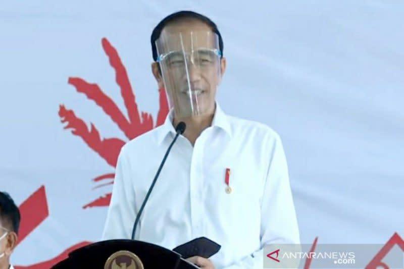 Presiden salurkan  bantuan untuk pelaku usaha di Pulang Pisau