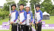 射箭/台灣首次「夜射」挑戰 奧運女將風雨中一樣神準