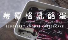 藍莓優格乳酪蛋糕!停不下來的酸甜好滋味