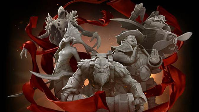Dota 2 The International 6. (Valve)