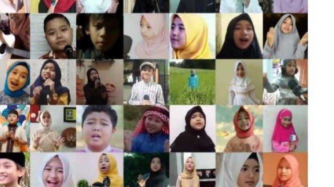 Berbekal Olah Vokal dari Rumah Puluhan Anak Jadi Juara Nasional