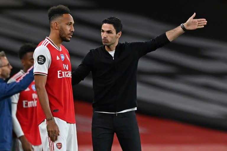 Arteta urges Arsenal to reach Liverpool's level