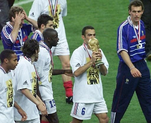 The French World Cup winning team in 1998 were of mixed heritage, much like the 2018 squad