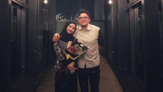 Tak terasa usia pernikahan Laudya Cynthia Bella dengan Engku Emran telah berjalan selama 1 tahun. (Instagram/@LaudyaCynthiaBella)