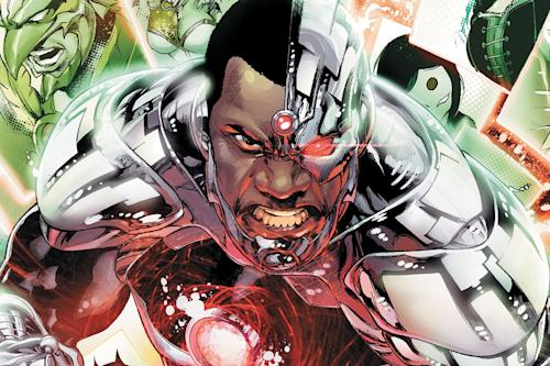 Theater actor Ray Fisher signs to play DC's Cyborg in 'Man Of Steel' sequel