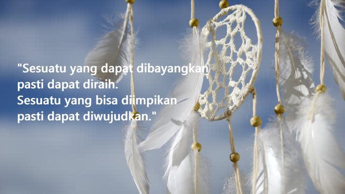 Kata-kata inspirasi hidup tentang meraih mimpi (sumber: Pixabay)