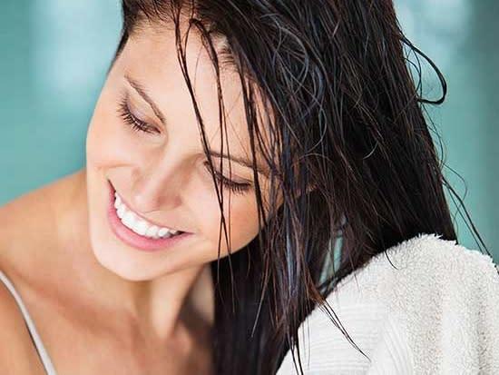 洗完頭不吹頭髮