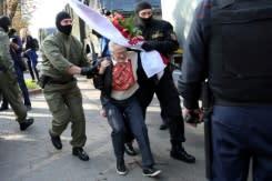 Puluhan ribu mengikuti aksi protes di ibu kota Belarus