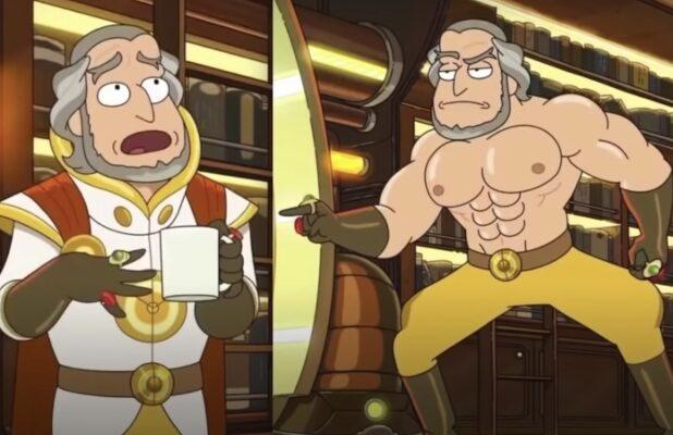 Paul Giamatti on His Super-Ripped 'Rick and Morty' Character: 'The Chest Is Crazy' (Video)