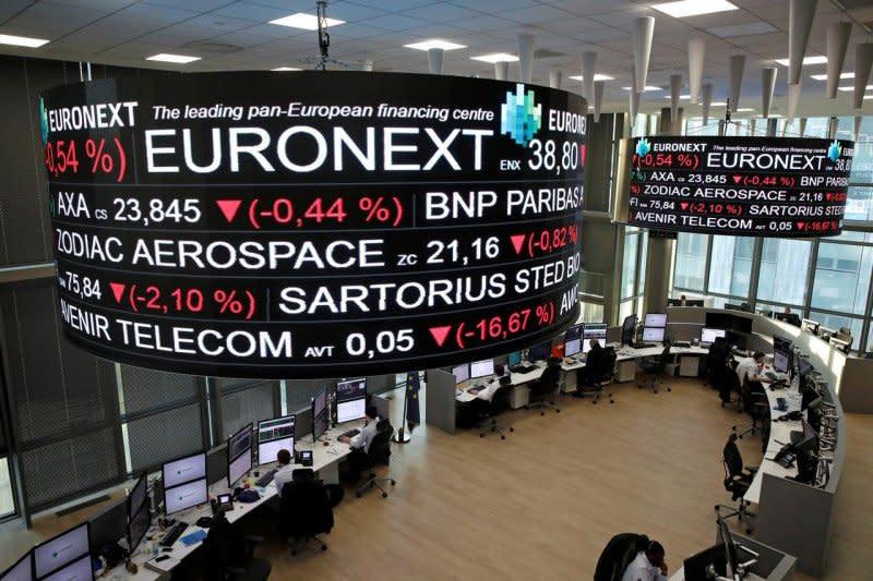 Saham Prancis bergairah dengan indeks CAC 40 melambung 8,39 persen
