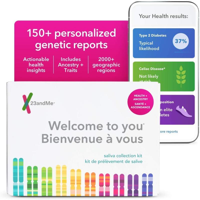 23andMe DNA Test. Image via Amazon.