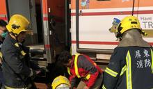 台鐵潮州調車工遭2車廂包夾 送醫搶救不治