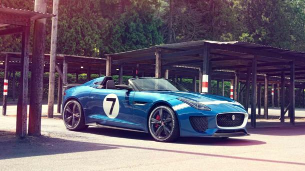 Jaguar Project 7 readies for Goodwood, blending F-Type style with D-Type flair