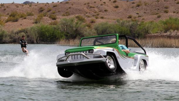 WaterCar Panther, the amphibious off-road vehicle sets sail