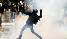 哥倫比亞反政府示威邁入第2週 警射催淚彈鎮壓