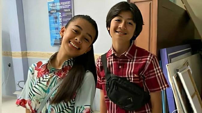 Potret Kompak Aqeela Calista dan Rassya Hidayah. (Sumber: Instagram.com/syaqeel.luv)