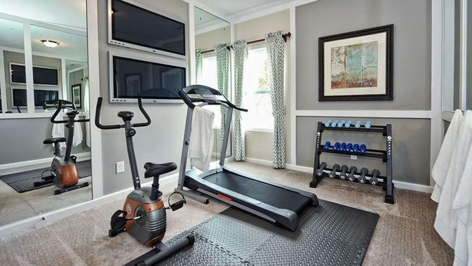 4 Tips Mendesain Ruang Gym di Rumah Sendiri