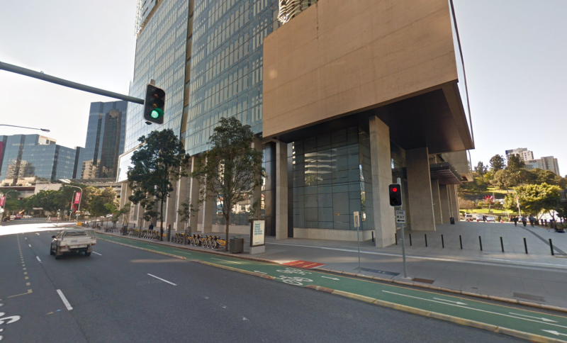 Brisbane District Court, from a Google street view, where Tanson was convicted.