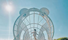 幾何動物圓形美拍!水資源公園童趣IG熱點
