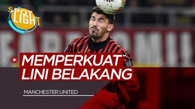 VIDEO: Alessio Romagnoli dan 4 Pemain yang Bisa Memperkuat Pertahanan Manchester United