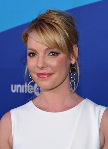 Katherine Heigl arrives at unite4:good and Variety's unite4:humanity at Sony Pictures Studio on Thursday, Feb. 27, 2014, in Culver City, Calif. (Photo by John Shearer/Invision for Bright Future International/AP Images)