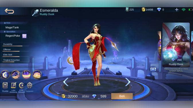 Esmeralda: Ruddy Dusk.