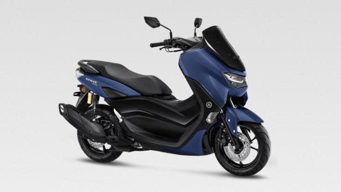 Yamaha NMax matte blue. (YIMM)